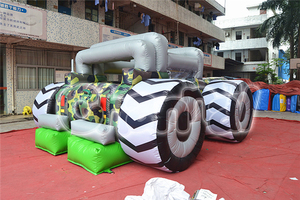 Giant Inflatable Humvee Bouncer/Inflatable Car Boucy Castle for Jumping