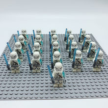 21 шт., Звездные войны, Боевой Дроид, клон, оружие, совместимые с Legoeinlys, штурмовик, 75043, 75058, 7662, мини-игрушки, фиговый строительный блок(Китай)