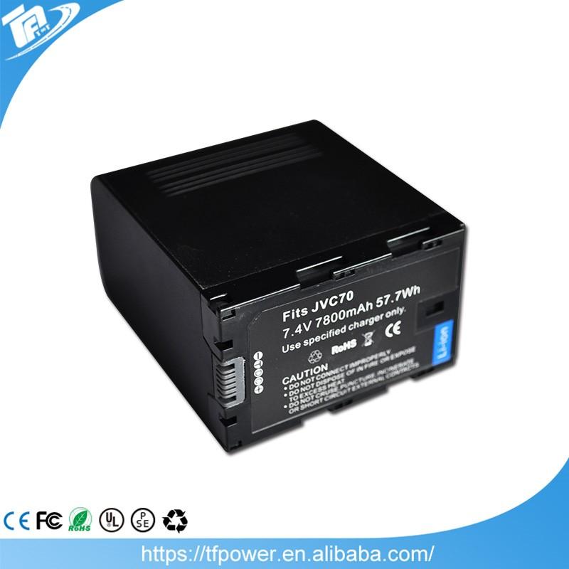 GR-D247 BN-VF733US GR-D250U GR-D246 GR-D250 3300mAh Battery Replacement for JVC GR-D240 P//N BN-VF733 BN-VF733U LY34647-002B