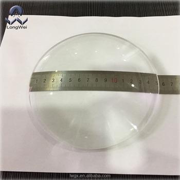 Diameter 152mm Plano Convex Lens For  Magnifier,Projector,Microscope,Telescope - Buy Diameter 152mm Lens,Diameter  152mm Plano Convex Lens,Diameter