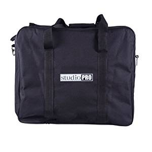 "Fovitec StudioPRO Double LED Carrying Case 18.5""x 7.5""x 16"" for 900 and 1200 LED Panels, Compatible with StudioPRO LED Lighting Panels CN-900SA, CN-900CSA, CN-1200HS, and CN-1200CHS"