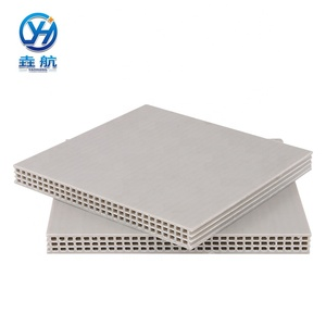 Precast Concrete Slab Formwork Building Reuse More Than 80 Times high density Pp Hollow Plastic Formwork