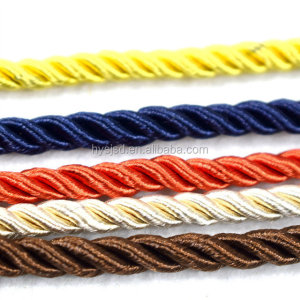 Premium quality 3 strands nylon twisted handle rope for bag