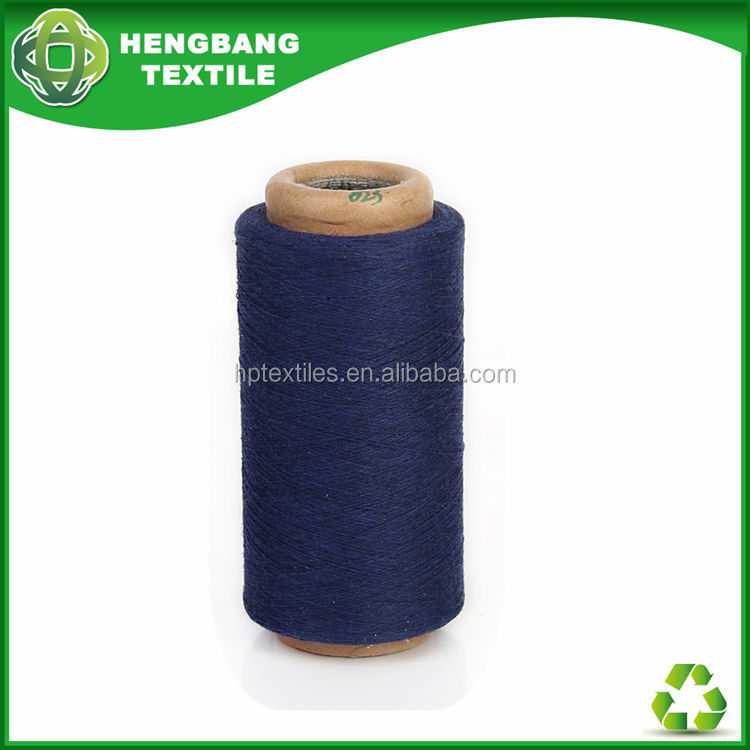 HB752 Stock regenerated cotton yarn open end type for denim importers agents Egypt