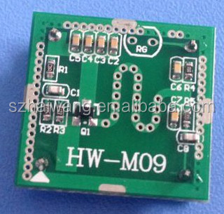 Hai Small Size Doppler Sensor Module Microwave Motion Time Distance Adjule