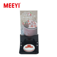 Meeyi Y-70 Plastic Restaurant Table Menu Holder Stand Compatible With Y-A Series Call Button