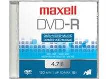 Maxell Dvd-r 4.7 Gb 16x(max) Spindle 50pk Consumer Electronics Electronics