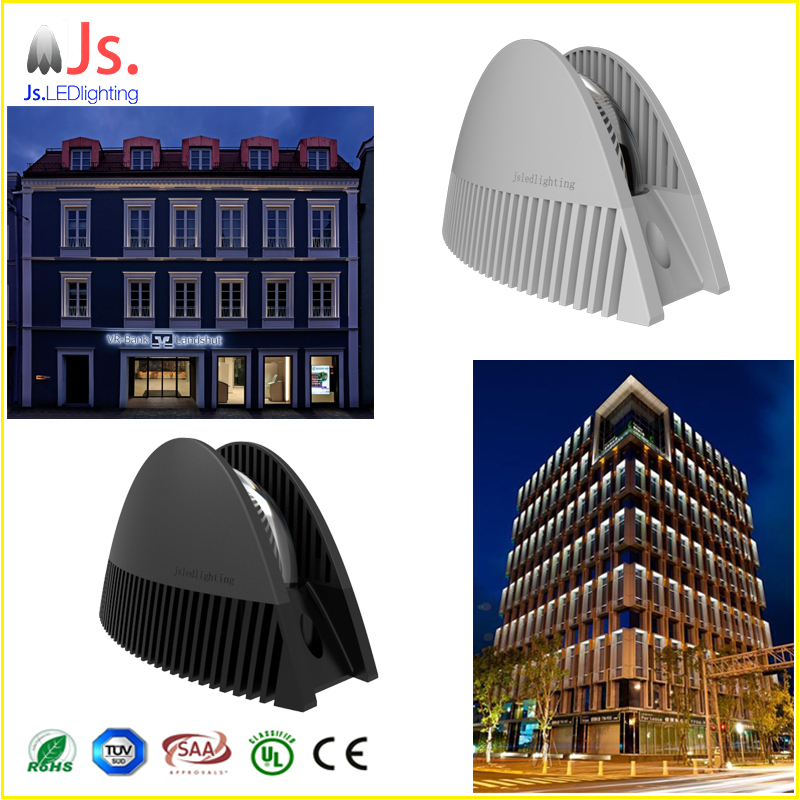 celling mounted 8w commercial decorative led trick light for 360 degree windows