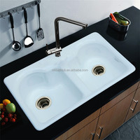 cast iron enamel sinks