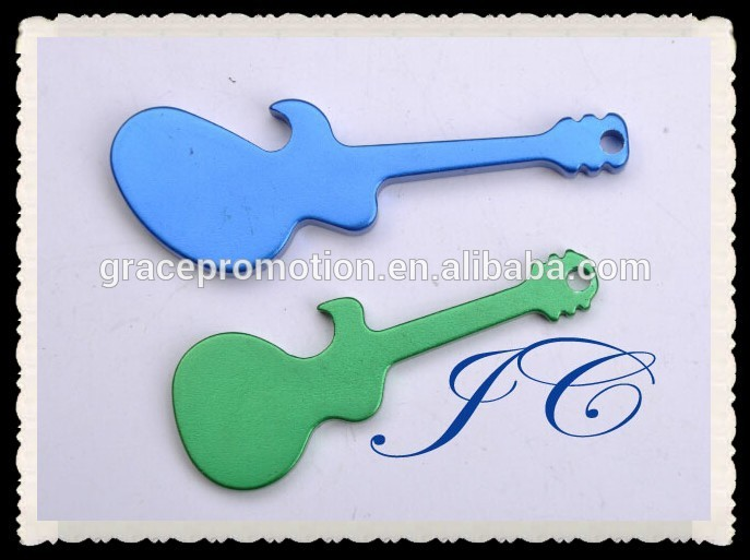 2017 hot sale guitar shaped bottle opener for prmotion b-266