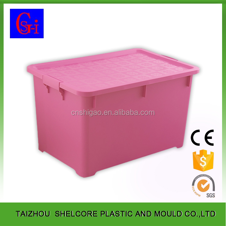 Multi-function new design outdoor 42L plastic storage containers