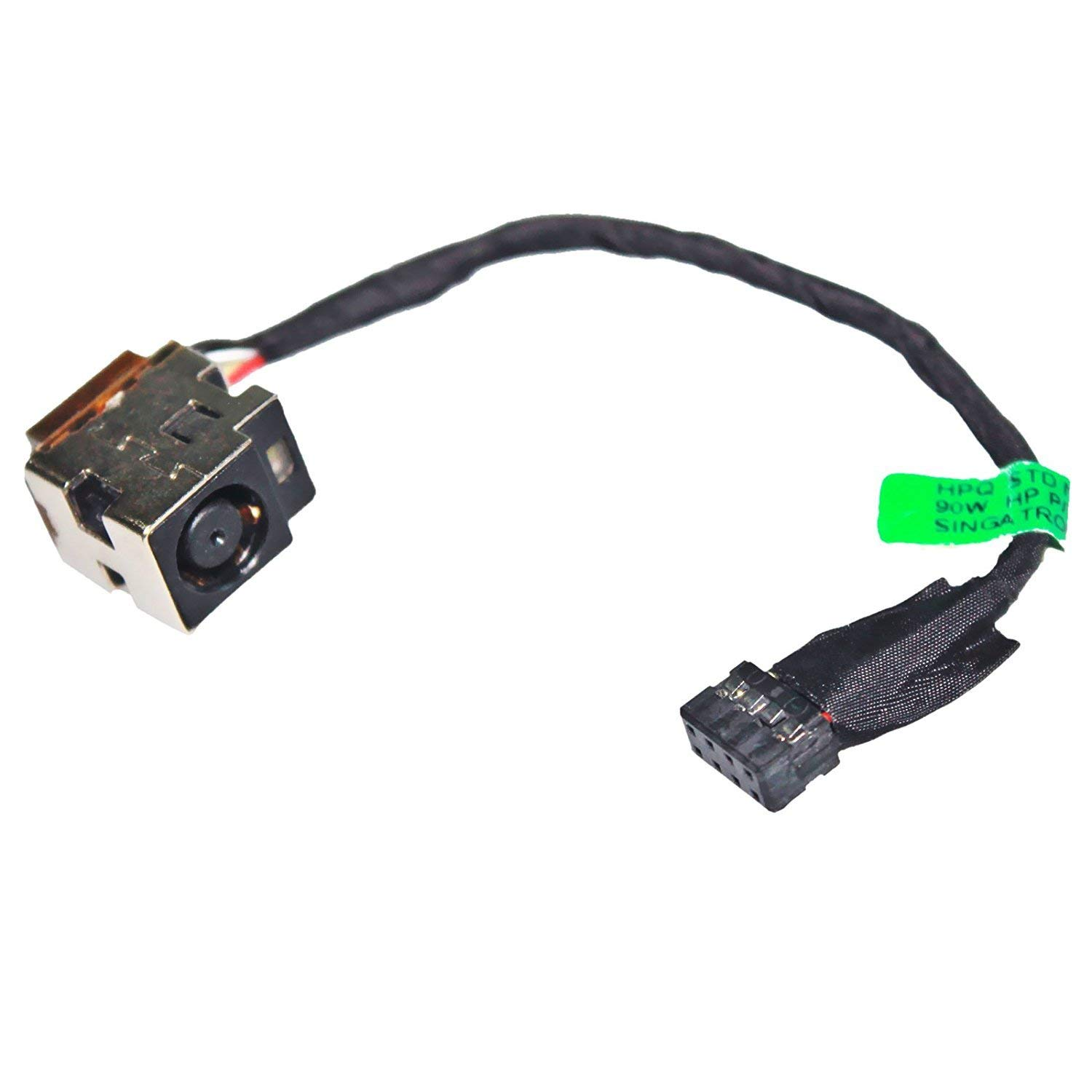 New AC DC Power Jack Plug Socket Cable Harness Compatible HP 2000-2c07ca 2000-2c10dx 2000-2c11nr 2000-2c10nr 2000-2c12nr 2000-2c17cl 2000-2c20ca 2000-2c20nr