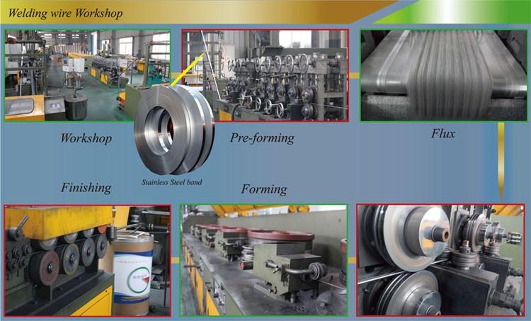 High Chromium Carbide Hardfacing Flux Cored Welding Wire - Buy High ...
