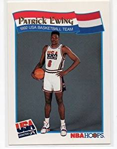 b7e1ca7ec44 Get Quotations · Patrick Ewing 1991-92 Hoops McDonald's #53