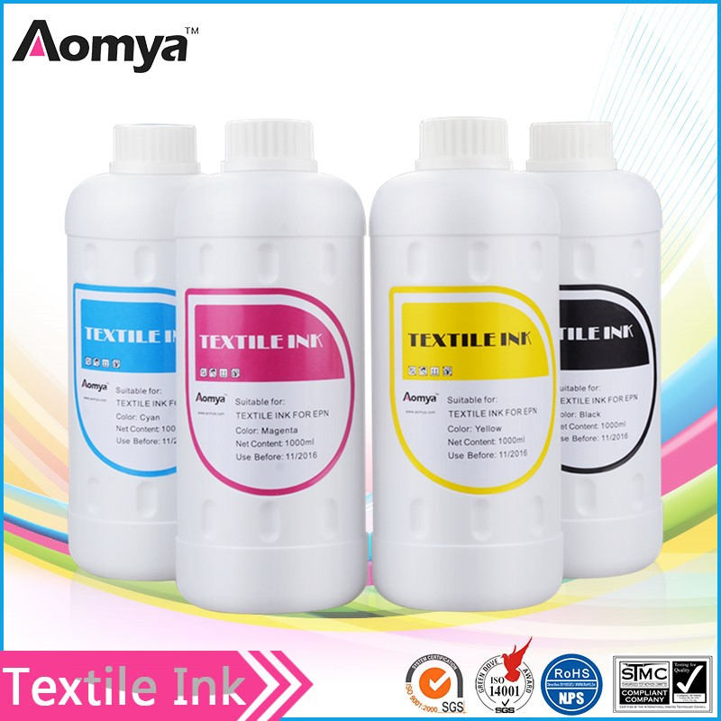 Aomya low price textile ink for textile printer with no pretreatment