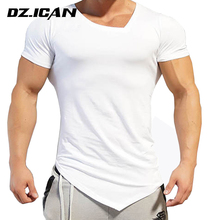 Mixed Color Cheap Blank White Slim Fit T Shirt With Pattern