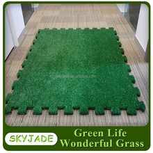 Interlocking Artificial Grass Tiles - Floor Mats