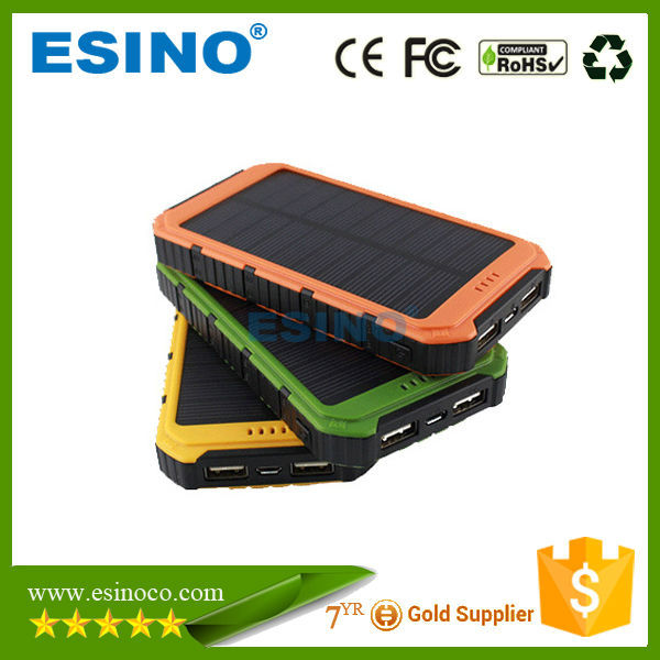 3W Hot sell Portable Solar Power Bank , Phone , Digital Devices Charger