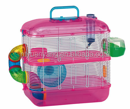 Hamster fun home small animal cage