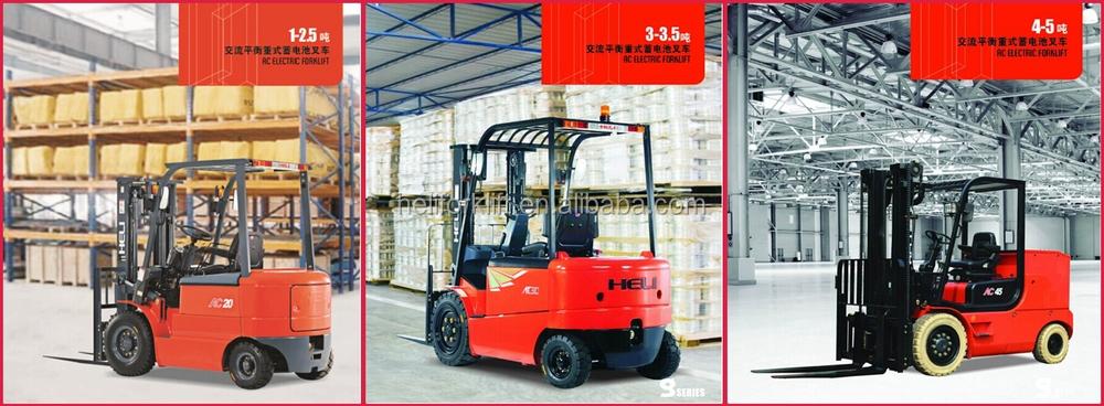 HELI Brand Forklift Spare Parts Batteries 12V/24V/48V