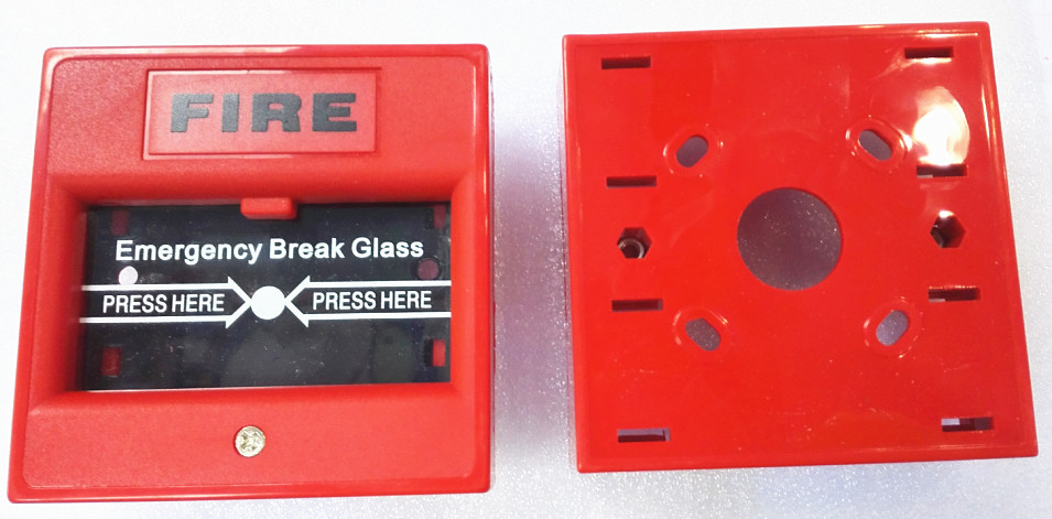 Emergency Push Button/glass Break Wired Panic Button/emergency Stop Button  Fire Alarm Button - Buy Emergency Button,Emergency Push Button,Emergency