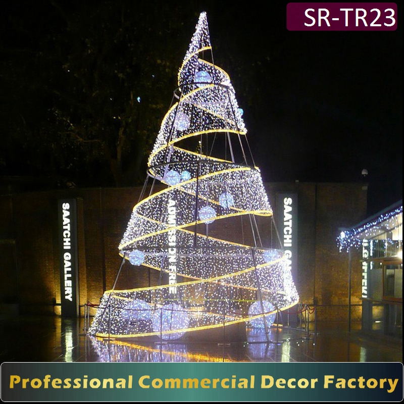 led spiral christmas tree led spiral christmas tree suppliers and manufacturers at alibabacom - 20 Ft Christmas Tree