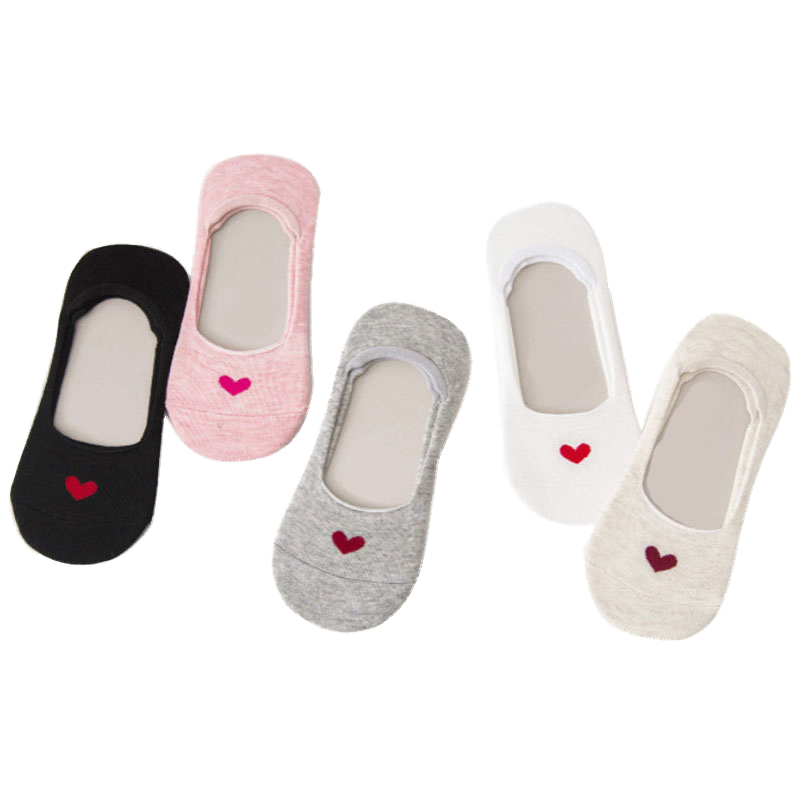 Women Lovely Non Skid Lady Invisible No Show Socks