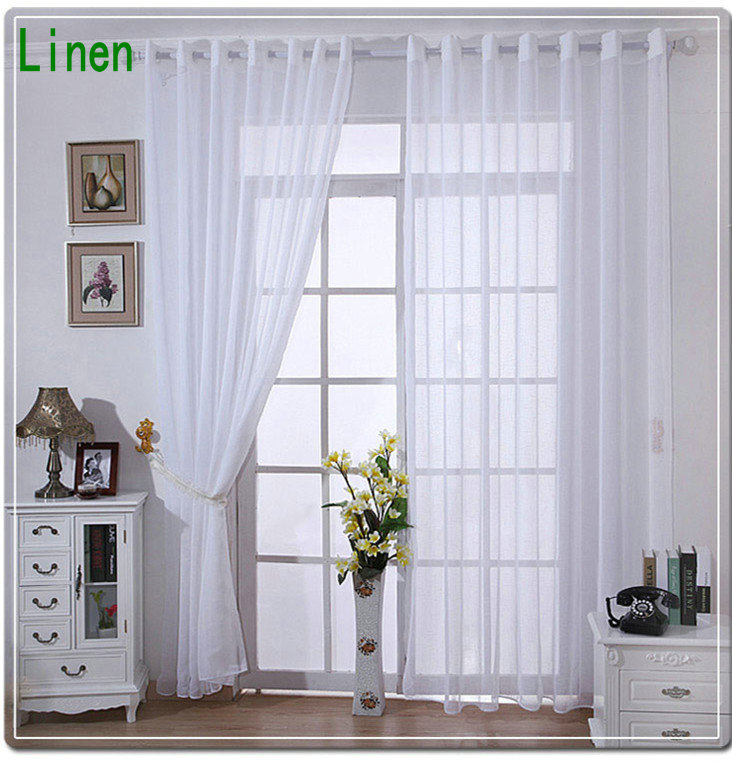 Aliexpress.com : Buy On Sale! Linen Tulle Curtains For