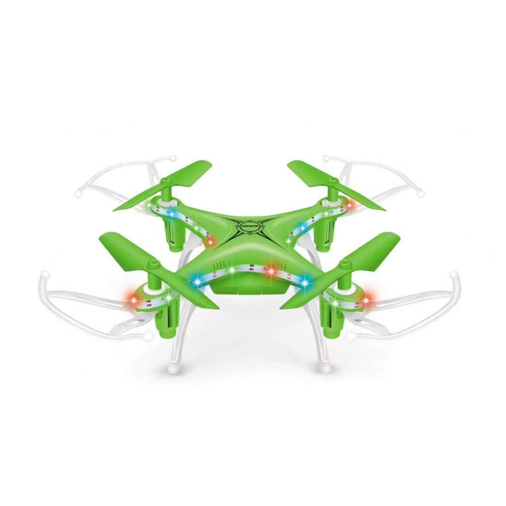 Gbell Mini RC Quadcopter - X13D 2.4GHz 4CH Led 3D Rollover Drone for Beginnners - Best Birthday Christmas New Year Gifts for Kids Adults, Red,Black,Blue,White,Yellow (Green)