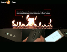 Inno-living 36 inch wifi/remote control easy install fireplaces