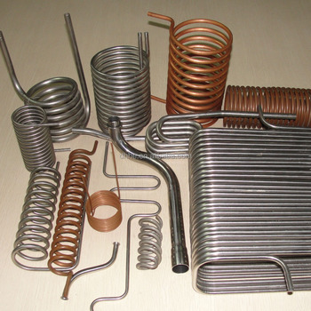 Stainless Steel And Copper Evaporator Coil