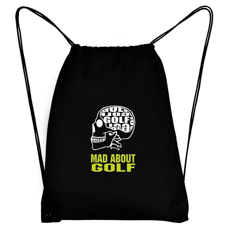 Teeburon MAD ABOUT Golf SKULL Sport Bag