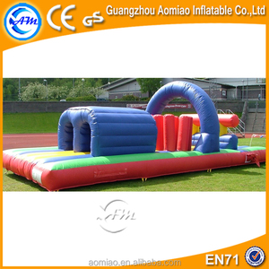 HOT popular inflatable paintball obstacle,outdoor inflatable obstacle course,inflatable paintball obstacle for fun
