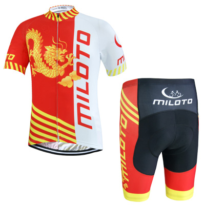 china custom <strong>specialized</strong> cycling jersey men short sleeve cycling clothes jersey and bib shorts sets