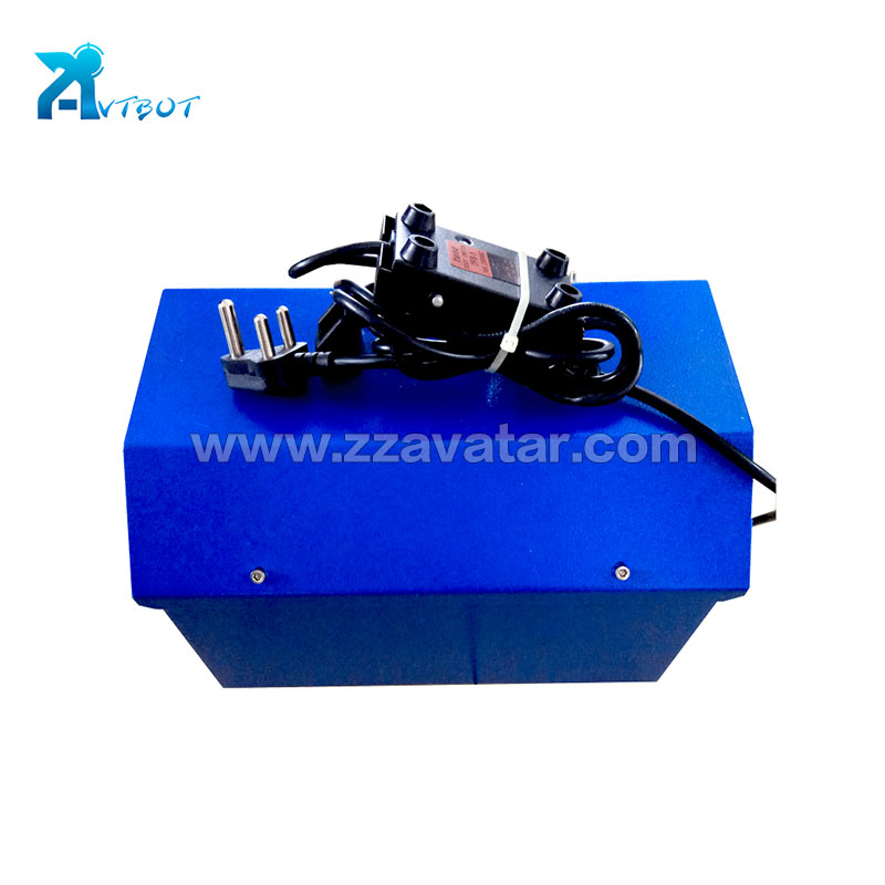 Fashion small air duct cleaning machine cleaner round robot
