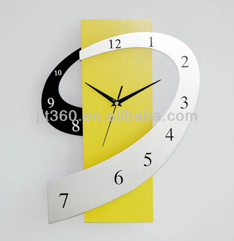 New Design Mdf Wooden Wall Clock Made In China