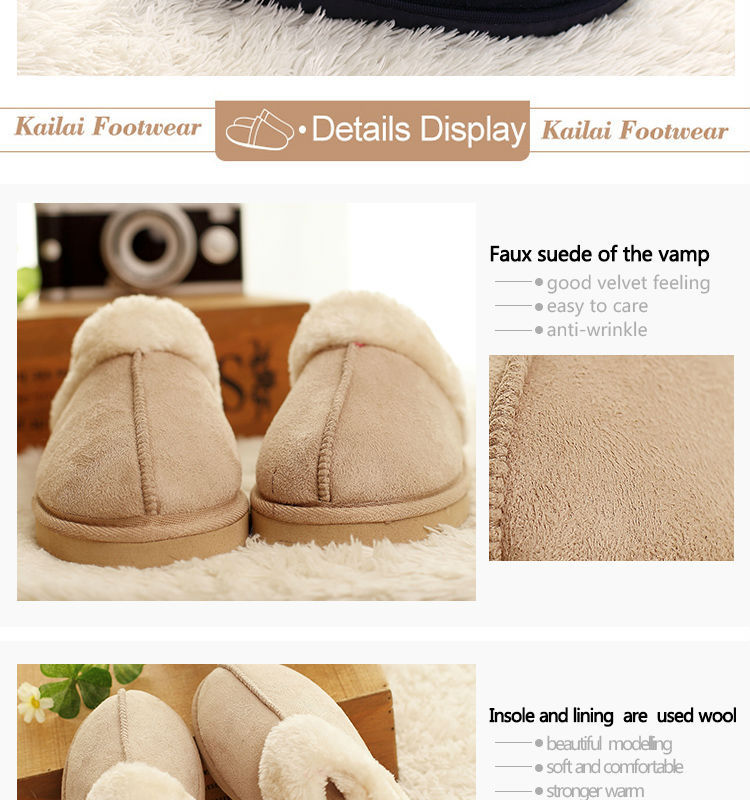 154be4c0c New fashion fluffy winter indoor latest ladies leather slippers shoes and  sandals
