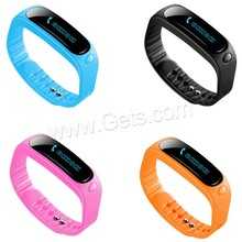 3d pedometer silicone Led smart watch 2017