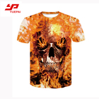 Full Sublimation T-shirt Sublimation Printing Tshirt Professional Full Sublimation Men's Clothing Custom Printing Blank T-shirt