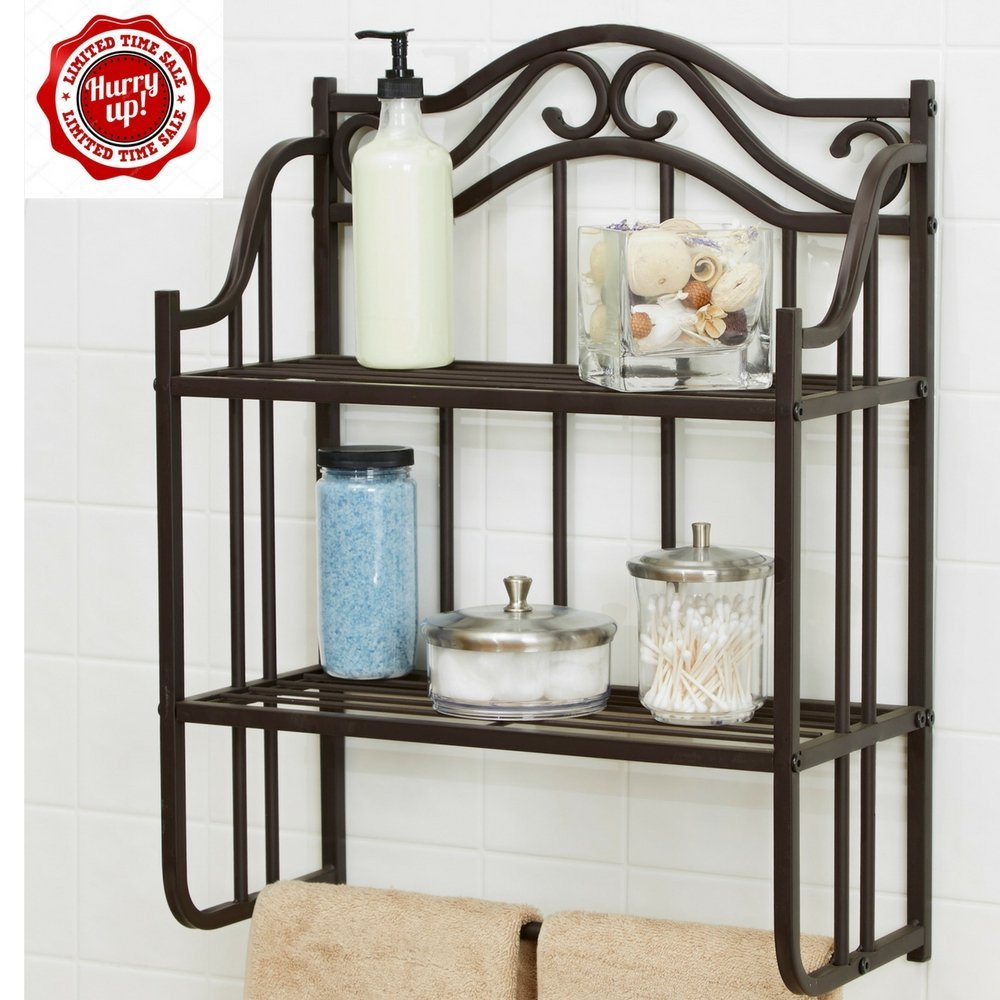Bathroom Shelves Bronze Find
