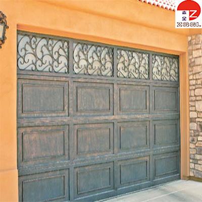 Eligant Scrolling Panel Iron Garage Door
