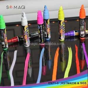 Somagi 8mm nib colorful marker diamond marker pen