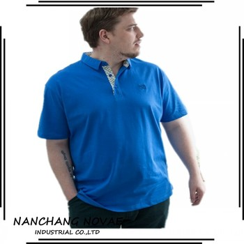 Polo shirts white plain custom design fat men plus size polo t shirt, View  polo t shirt, novae Product Details from Nanchang Novae Industrial Co., ...