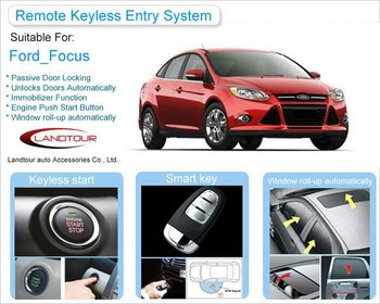 Keyless Go Pke Remote Control Entry System For Ford Focus