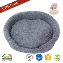 Soft Classic Design Hot Selling Round Chenille Fabric dog bed