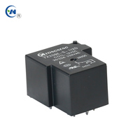 24V 40A Phase Sequence Refrigeration 30A Relay 5pin 250VAC 20A 220V High Power Pla Stabilizer Motor Protection Relay Price