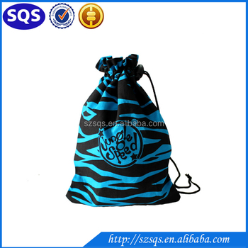 Best Ing Fashion Bulk Zebra Stripes Printing Mini Drawstring Bags