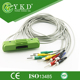 Wholesale CE and ISO certificate Nihon Kohden ECG-9320 one-piece series ekg cable for medical use