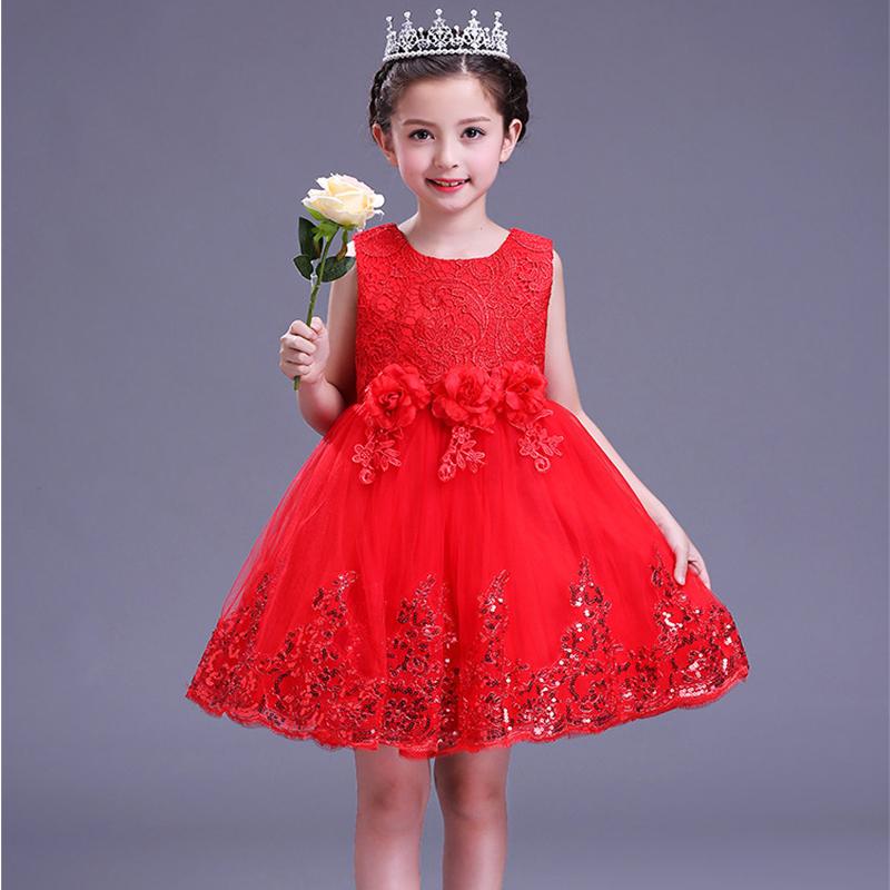 Hot Sale Frock Design Girls Dresses Handmade Baby Crochet Dress