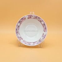 Wholesale porcelain 9 inch tableware food soup dishes